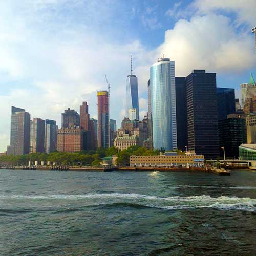 Ferry Boat Vista de Manhattan-ny