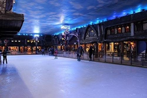 patinacao no gelo snowland