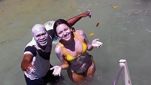 banho de argila praia guadalupe