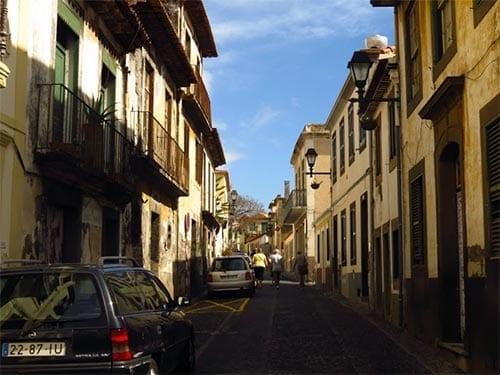 funchal zona velha ruas