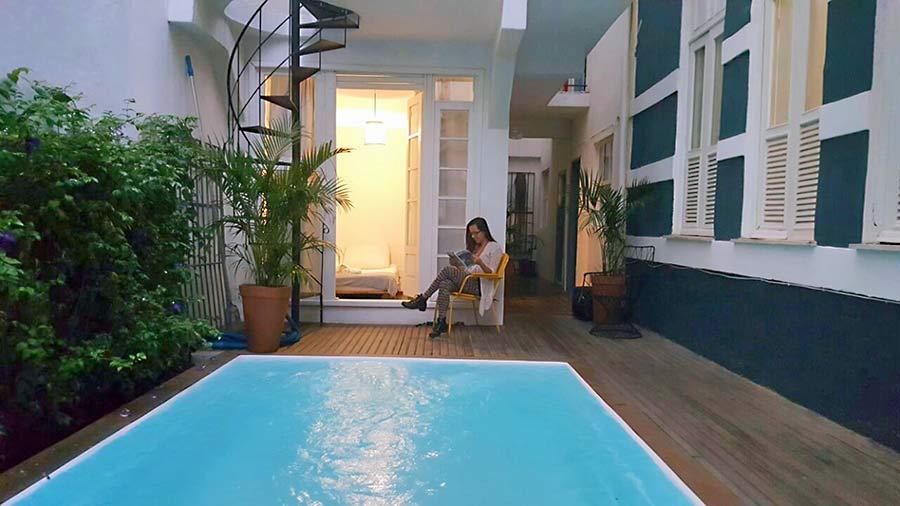 casa tuxi piscina