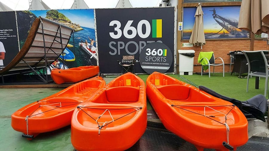 Caiaque transparente 360 sports