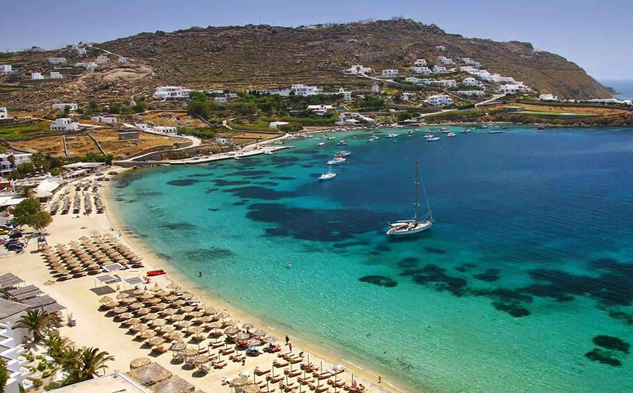 mykono ilha grecia
