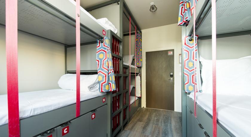 les piaules hostel em paris quartos