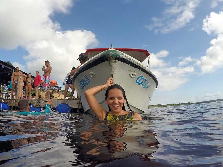 Mergulho em Canavieiras