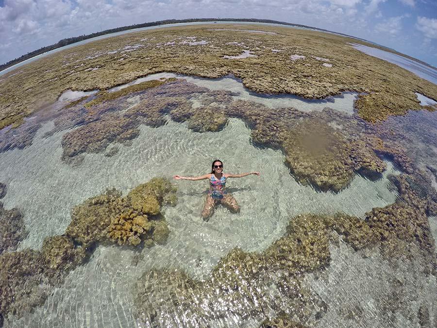 Piscinas naturais Praia do Toque