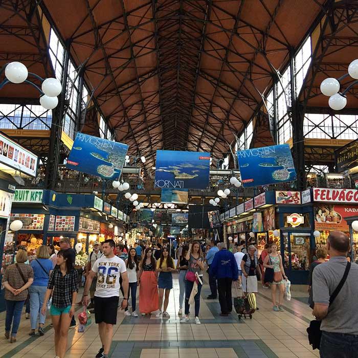 mercado municipal interior budapeste
