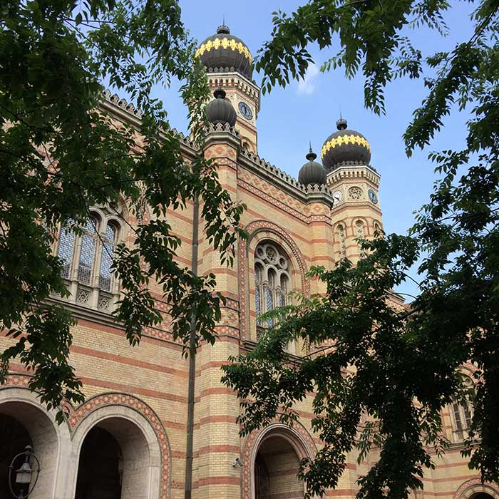 sinagoga fachada budapeste