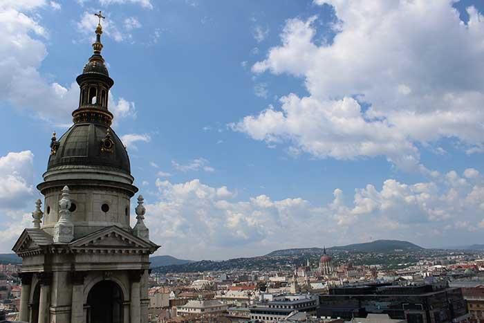 Vista da cúpula da Basílica