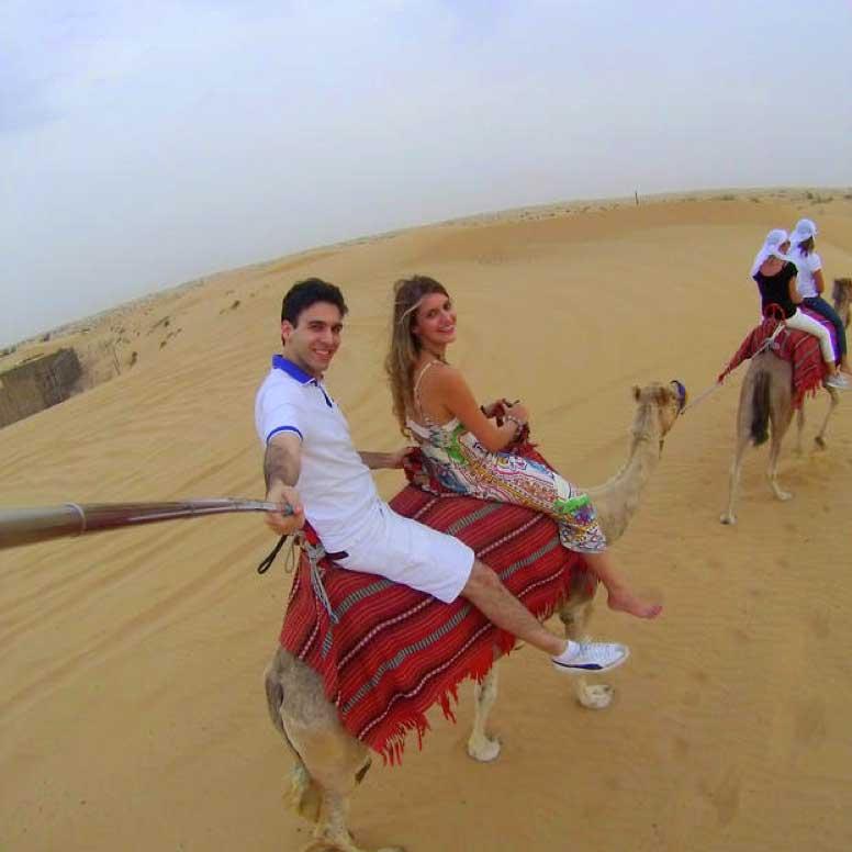 passeio de camelo dubai