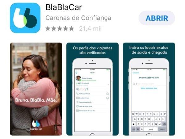 bla bla car app