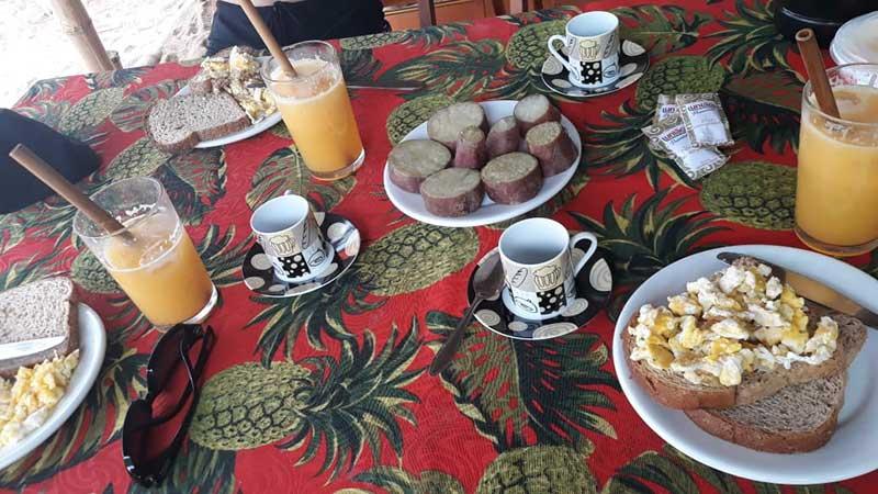 Cafe da manhã em Ponta Negra