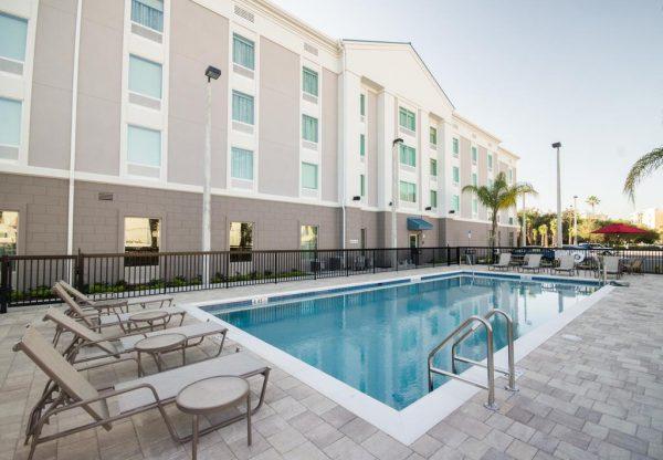 Onde ficar em Orlando Hampton Inn & Suits Orlando near SeaWorld
