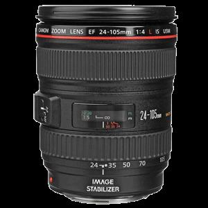 Lente Canon EF 24 105 mm