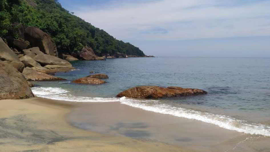 Praia de Ponta Negra Paraty