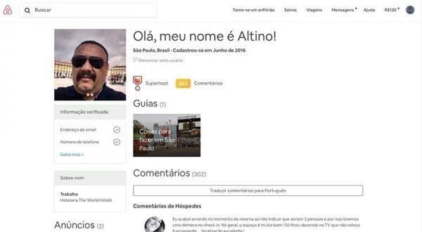 airbnb verificar informações