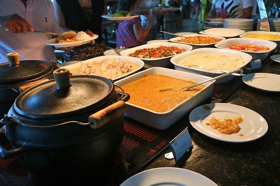 almoco malai manso resort