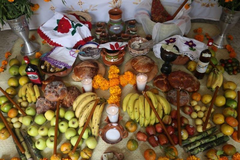 altar ofrendas dia de muertos