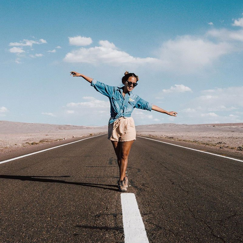 amanda prefiro viajar