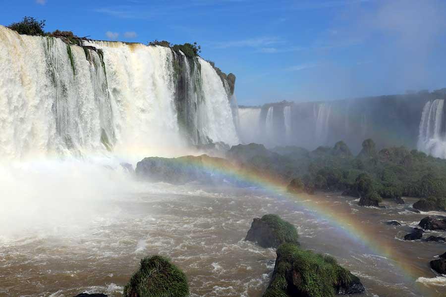 arco íris cataratas iguacu