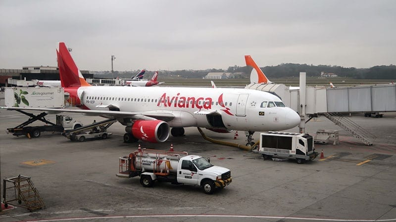 avianca voo