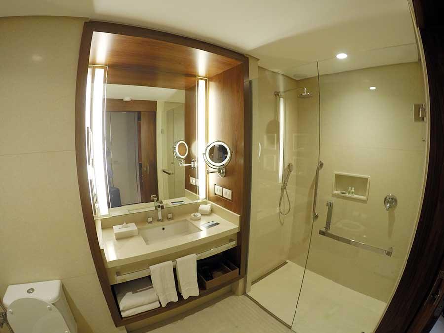 banheiro hilton barra rio