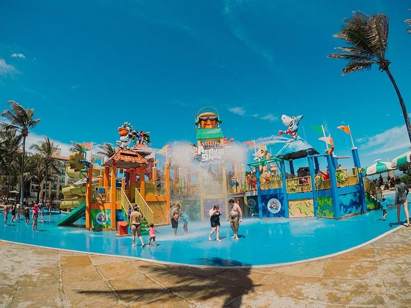 beach park aqua show