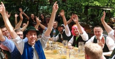 biergarten de munique alemanha