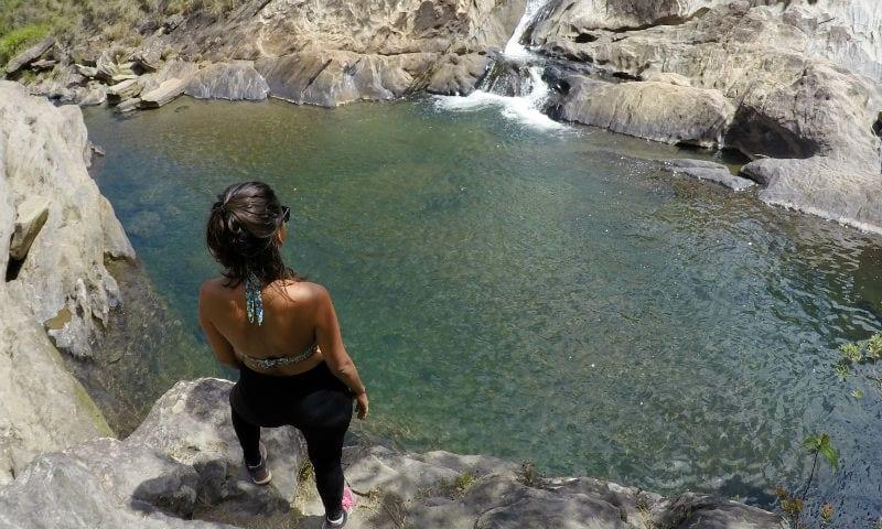 cachoeira do castelinha lavras novas