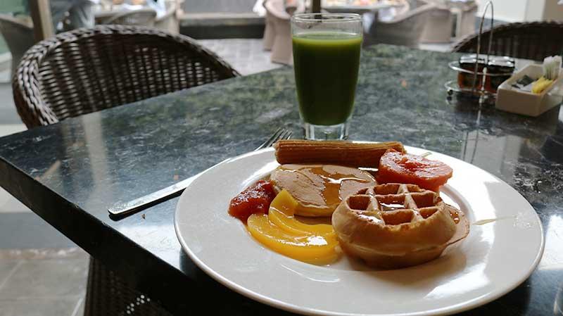 café da manhã nizuc cancun
