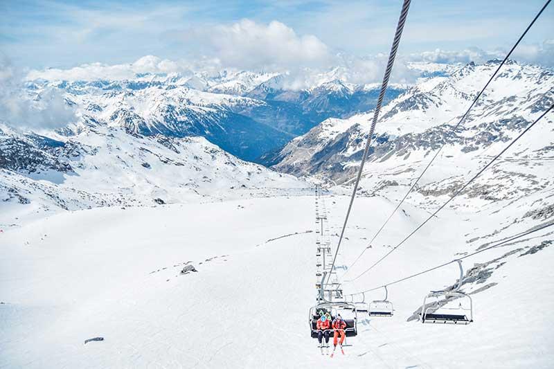 lugares para viajar no carnaval fora do brasil ski courchevel frança