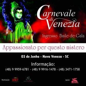 carnavale de veneza convite