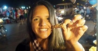 comer insetos asia