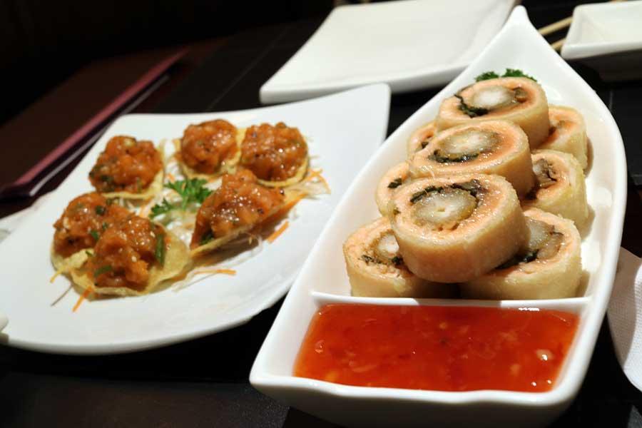comida oriental restaurante opium