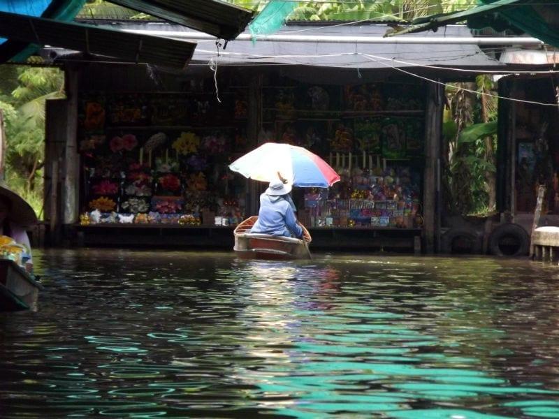 damnoen saduak mercado flutuante