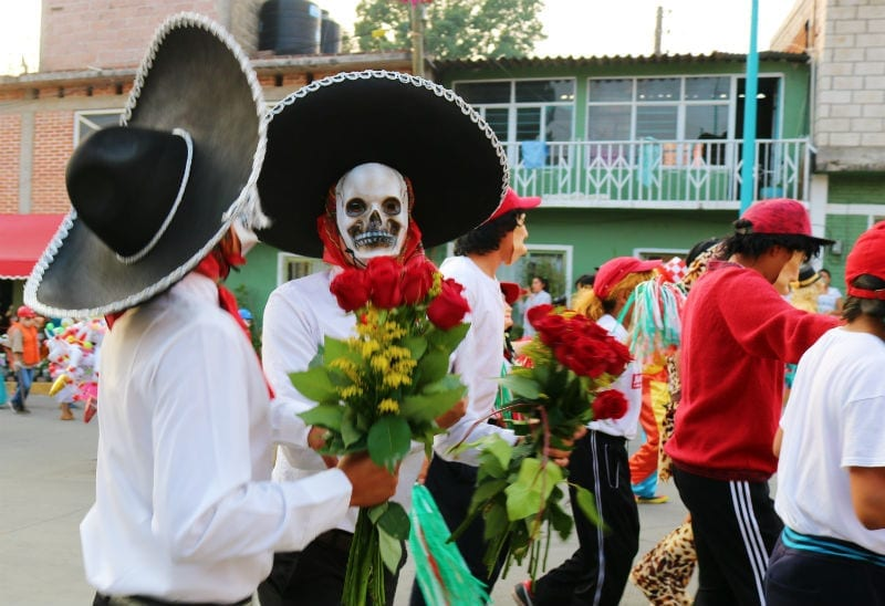 dia de muertos mexico huehuenchada