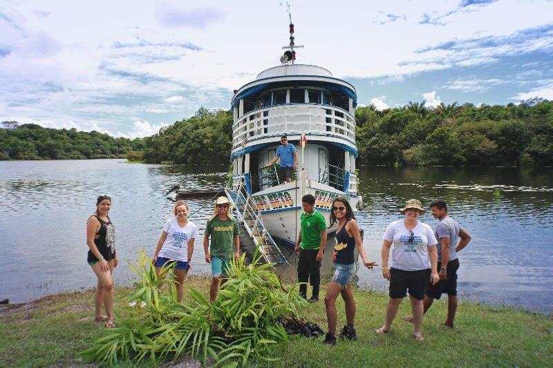 entrega mudas expedicao amazonia