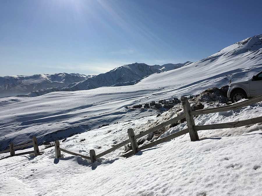 esquiar no chile