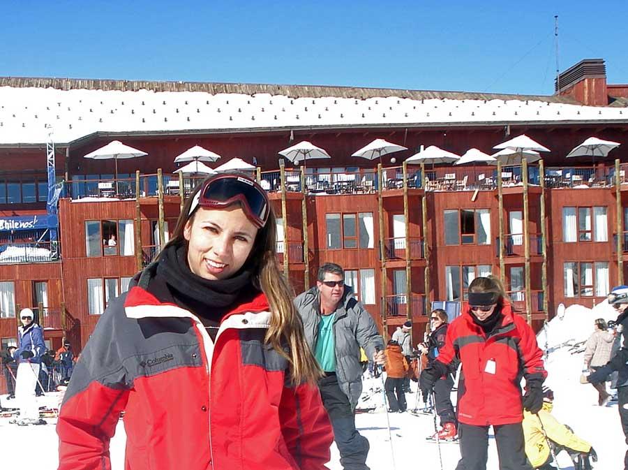 esquiar valle nevado