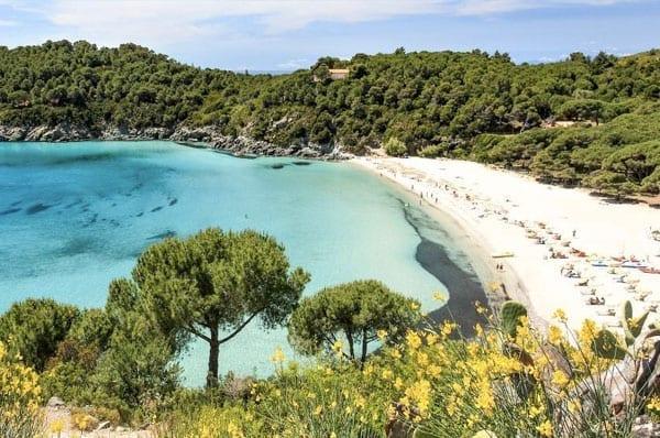 Praia da Europa: Fetovaia, Ilha de Elba, Itália.