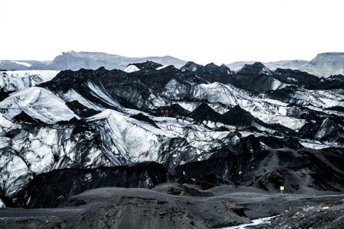 geleira Slheimajkull ring road islandia