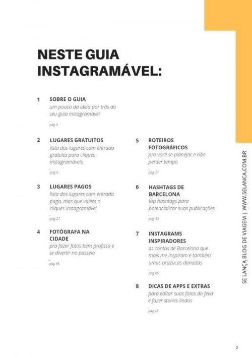 guia instagramavel barcelona sumario