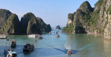 cruzeiro em halong bay