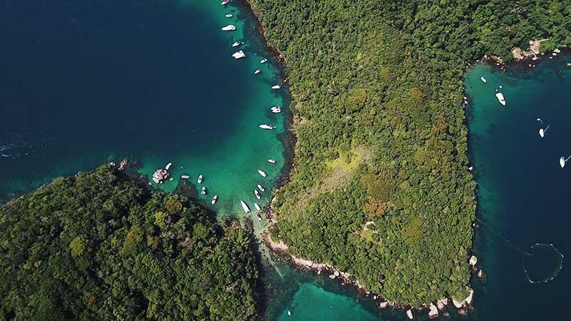 ilha grande drone