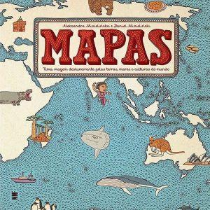 livro mapas