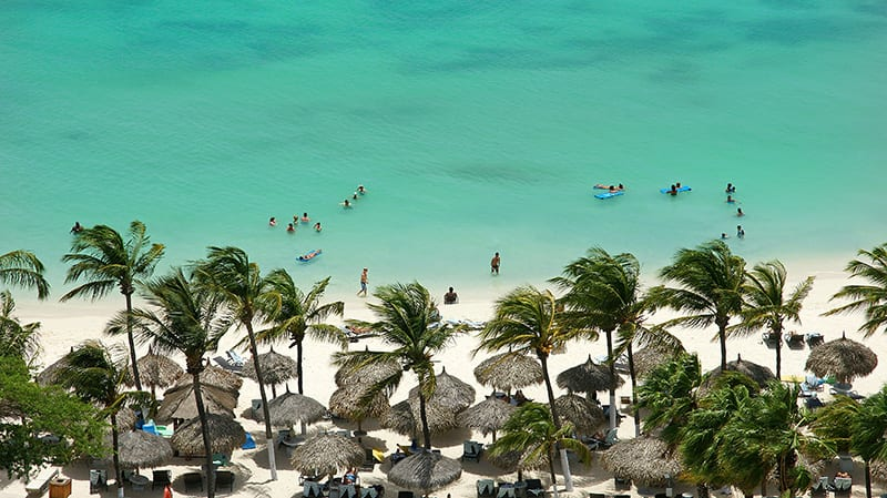 lugares para viajar na semana santa aruba