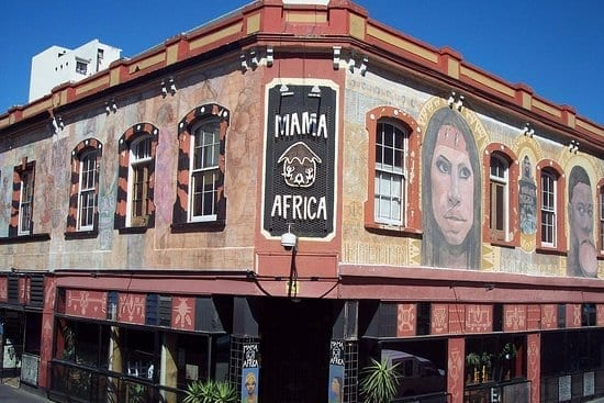mama africa cape town