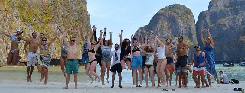 maya bay sleep abroad
