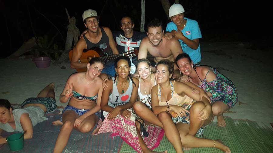 noite maya bay tailandia