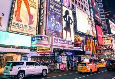 nova york letreiros